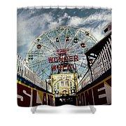 Gate Of Wonder Shower Curtain