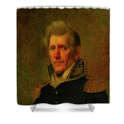 General Andrew Jackson Shower Curtain