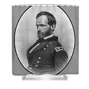 General Sherman Shower Curtain