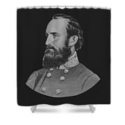 General Stonewall Jackson - Five Shower Curtain