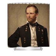 General William Tecumseh Sherman Shower Curtain