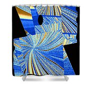 Geometric Abstract 2 Shower Curtain