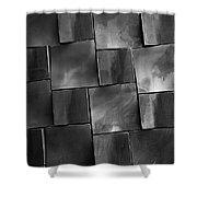 Geometrix Abstract Art Shower Curtain