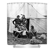 George Armstrong Custer Shower Curtain