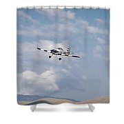 George Ford And Matt Beaubien In Friday Morning's Sport Class Signature Edition 16x9 Aspect Shower Curtain