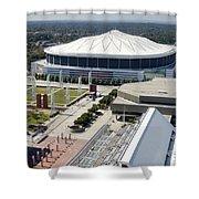 Georgia Dome In Atlanta Shower Curtain