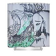 Gethsemanes Promise Shower Curtain
