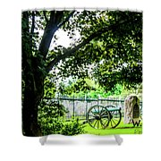 Gettysburg National Cemetery Shower Curtain