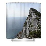 Gibraltar Rock Shower Curtain