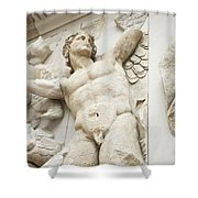 Gigantes  With Eros Shower Curtain
