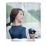 Girl's Day Shower Curtain