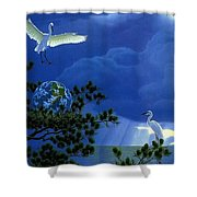 Giver Of Life 2 William Schimmel Shower Curtain