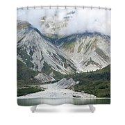 Glacier Bay Landscape Shower Curtain