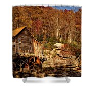 Glade Creek Grist Mill Shower Curtain
