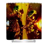 Glass 4 Shower Curtain