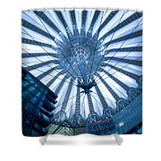 Glass Sky Shower Curtain