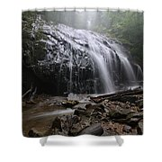 Glen Burney Falls Shower Curtain