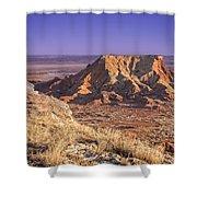 Gloss Mountains Shower Curtain