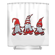 Gnomes Shower Curtain