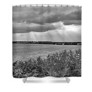 Gods Light Shower Curtain