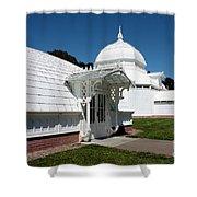 Golden Gate Conservatory Shower Curtain