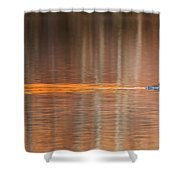 Golden Trail 2015 Shower Curtain