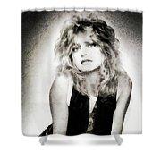 Goldie Hawn, Actress Shower Curtain