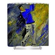 Golfplayer Shower Curtain