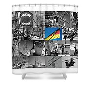 Gorch Fock 1958 Shower Curtain