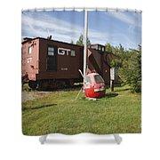 Gorham New Hampshire Shower Curtain