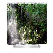 Gormon Falls Colorado Bend State Park.  Shower Curtain