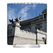 Government Building Rome Shower Curtain