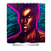 Grace Jones Shower Curtain