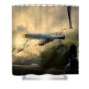 Grace Spitfire Ml407 Shower Curtain