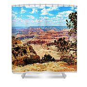 Grand Canyon Scenic Shower Curtain