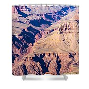 Grand Canyon Sunny Day With Blue Sky Shower Curtain