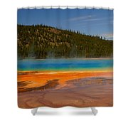Grand Prismatic Pool IIi Shower Curtain