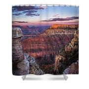 Grand Sunset Shower Curtain