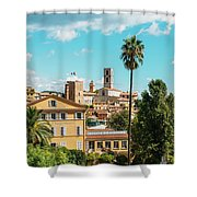 Grasse In Cote D'azur, France  Shower Curtain