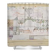 Great Hall For Singers Shower Curtain