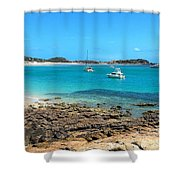 Great Keppel Island Shower Curtain