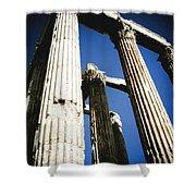 Greek Pillars Shower Curtain