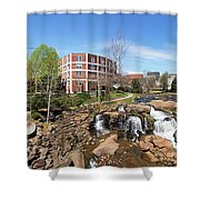 Greenville Panorama Shower Curtain