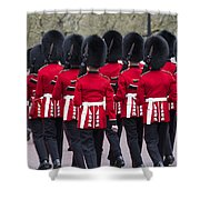 Grenadier Guards Shower Curtain