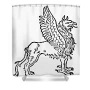 Griffin Shower Curtain