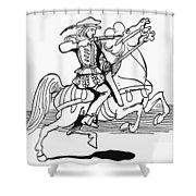 Grimm: Faithful John Shower Curtain