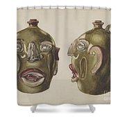 Grotesque Jug Shower Curtain