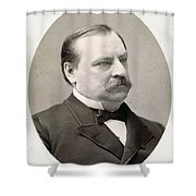 Grover Cleveland (1837-1908) Shower Curtain