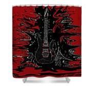 Guitar Of Wonder  Shower Curtain