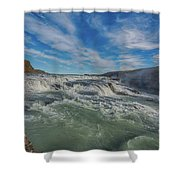 Gulfoss. Shower Curtain